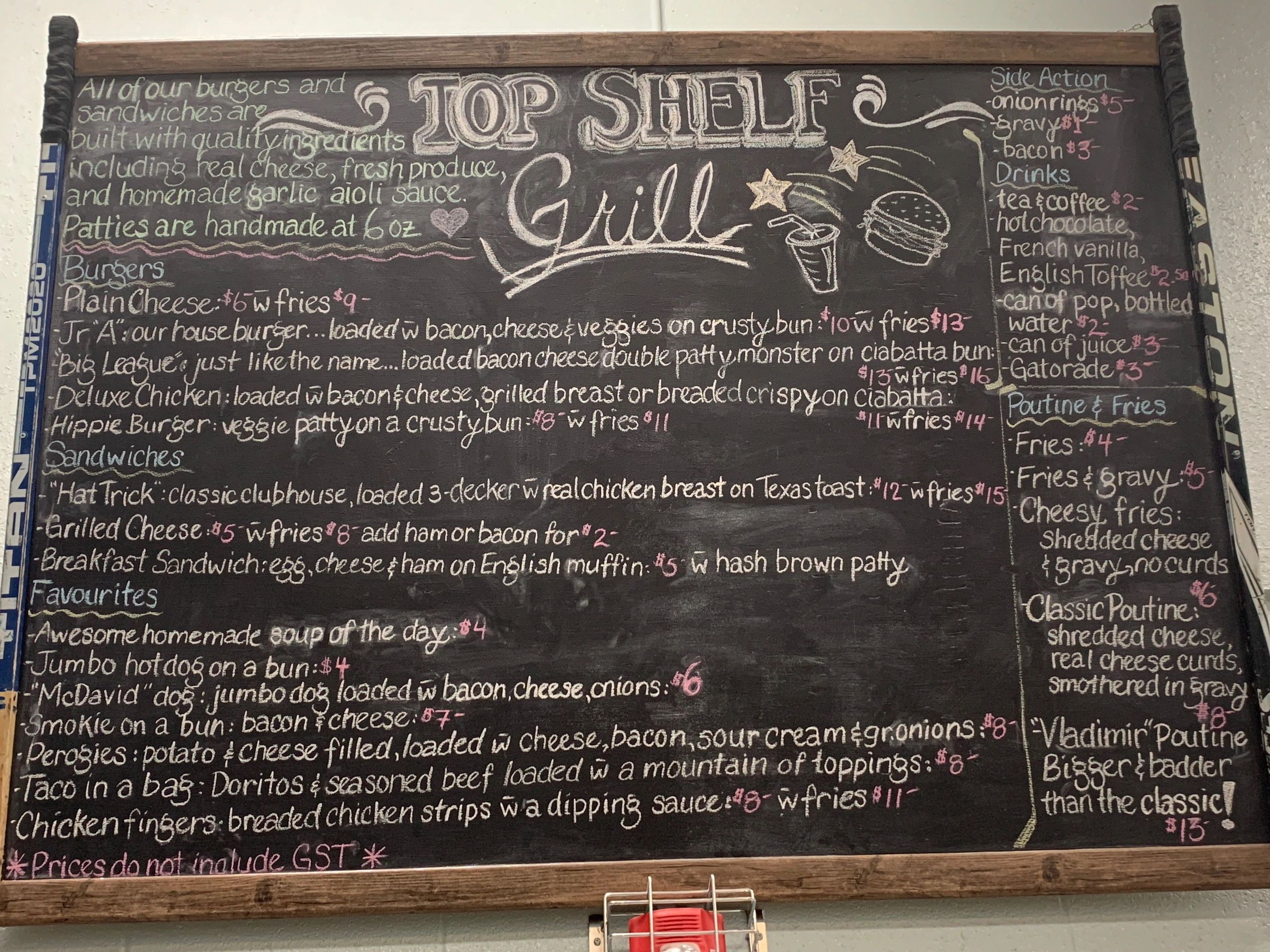 Top Shelf Grill